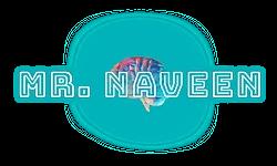 mr naveen by Naveen Burhaan Logo